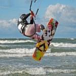 Kiteboarding. — Stock Photo #2770589