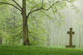 Kyrkogården. — Stockfoto