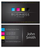 Business card 43 — Vettoriale Stock