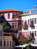 Chania buildings — Stock Photo