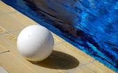 Football pool — Stock Photo