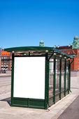 Bus stop Malmo 01 — Stock Photo