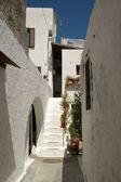 Dom grecki — Zdjęcie stockowe