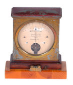 Ampere meter — Stock Photo