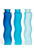Blue bottles — Stock Photo