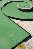 Mini golf — Stock Photo