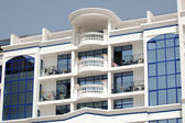 Hotel-balkon — Stockfoto