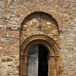 Ancient Church Doorway - Stock Photo