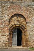古教堂门口 — 图库照片