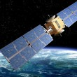 Communication Satellite - Stock Photo
