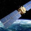 Stock Photo: Communication Satellite