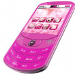 Pink Smartphone - Foto Stock