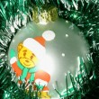 Christmas-tree ball — 图库照片