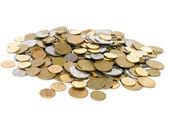 Heap of coins — Stockfoto