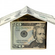 House made of dollars — Stock Photo #3046331