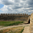 Wall of fortress — Stock Photo