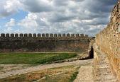 墙上的堡垒 — 图库照片