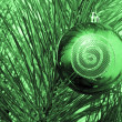 Christmas-tree ball — Stock Photo
