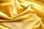 Gold organza. — Stock Photo