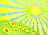 лето — Cтоковый вектор