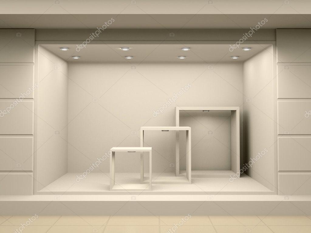 Как сделать витрину иллюстрация фон