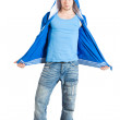 Young man dressed casual. Isolate — Stock Photo