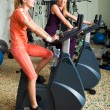Two Women Working Out — Stock Photo #3015931
