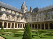 Historic European Abbey — Stock Photo
