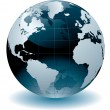 Royalty-Free Stock Imagen vectorial: World Globe