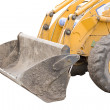 Stock Photo: Isolated digger