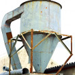 Rusty silo — Stock Photo