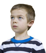 Portrait of a small boy — Stock Photo