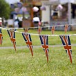 Stock Photo: String of Union Jack Bunting