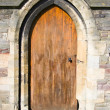Ancient wooden door — Stock Photo #3044262