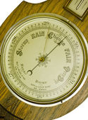 An antique banjo barometer — Stock Photo