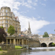 Stock Photo: View of Pulteney Bridge Bath