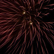 Burst of bright fireworks — Stock Photo #3058326