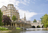 View of the Pulteney Bridge Bath — Stock Photo
