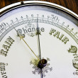 An antique banjo barometer — Stock Photo #3069120