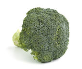 An isolated head of broccoli — Stock Photo