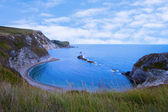 Man 'O' War Bay Lulworth Cove Dorset — Stock Photo