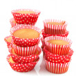 Baked many cup cakes — Stock Photo #2783321