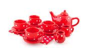 Kırmızı çanak çömlek — Stok fotoğraf