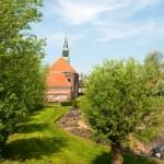 Old Dutch church — Stock Photo