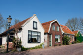 Old Dutch houses — Stock Photo