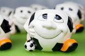 Soccer merchandise — Stock Photo