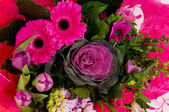 Flower bouquet in pink — Stock Photo