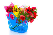 Flowers shopping — Stock Photo