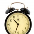 Black alarm clock — Stock Photo #2881885