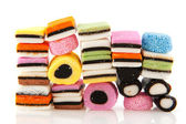 All sort licorice — Stock Photo